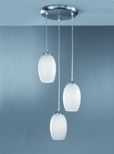 Franklite CO9573 Satin Nickel Pendant Light